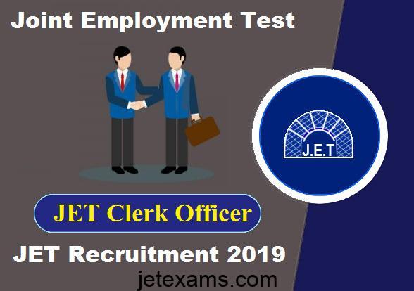 jet exam, jet exam 2019, JET clerk officer
